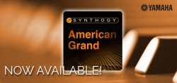 Now Available! Synthogy American Grand Piano Expansion Pack for Yamaha MOTIF XF Production Synthesizer